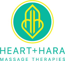 Heart+Hara Massage Therapies in Glasgow Logo